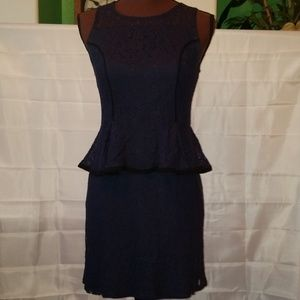 Xhilaration Navy Lace Dress